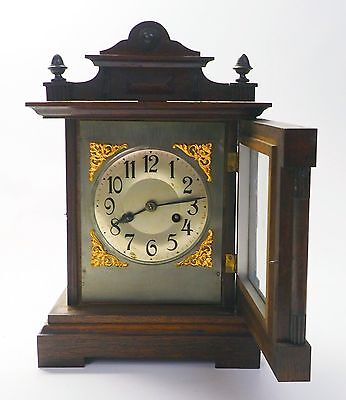 ANTIQUE MANTLE CLOCK with CB MOVEMENT