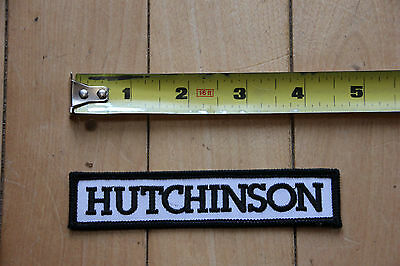 New Hutchinson Patch for Jacket / Pants / Bag Bikes Road Mountain Bicycles