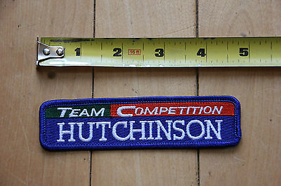 New Hutchinson Team Competition Patch for Jacket / Pants / Bag / Other Clothes
