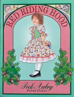 Peck Aubry, Little Red Riding Hood Paper Doll Book, Uncut, 1997