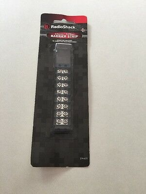 8-Position Dual Row Barrier Strip #274-670 By RadioShack