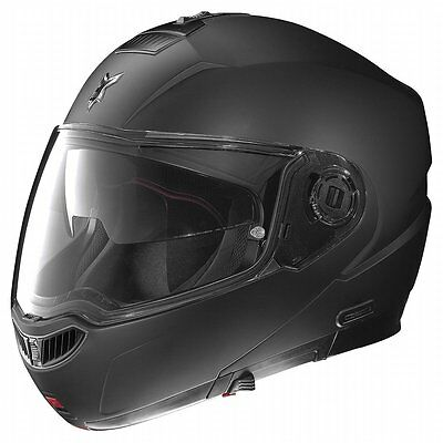 Nolan N104 EVO Solid Color Helmet w/MCS Md Flat Black N1R527226039M