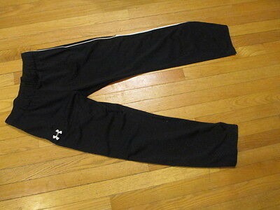 Under Armour Loose Fit Black fitness sweat pants YXL X-LARGE Youth boys girls XL