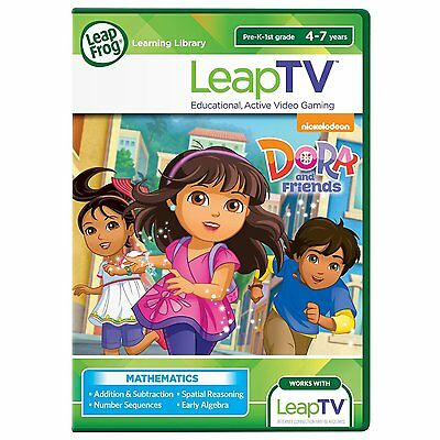 NEW: Leap Frog LeapTV DORA and Friends Active Video Game, READING 4-7 yrs