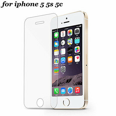 0.30mm 2.5D Ultra HD Tempered Glass film screen protector for iPhone 5 5s 5c