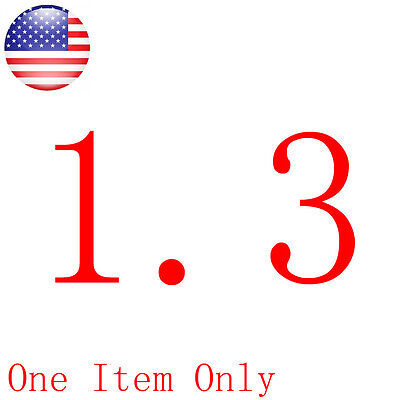 1.3 Shipping Fee For Only One Item Payment