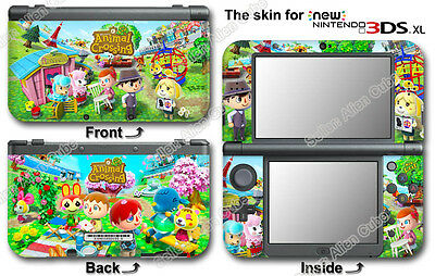 Animal Crossing New Leaf SKIN STICKER DECAL COVER #2 for NEW Nintendo 3DS XL