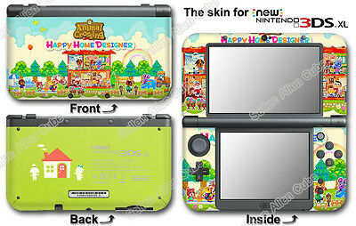 Animal Crossing Happy Home Designer Skin Sticker Cover Decal #3 for NEW 3DS XL
