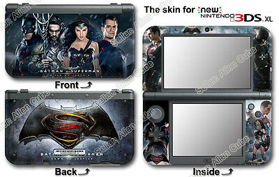 Batman V Superman Amazing Skin Sticker Decal Cover #2 for NEW Nintendo 3DS XL