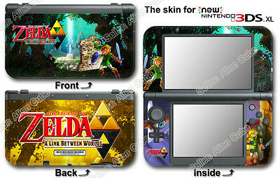 Legend of Zelda A Link Between Worlds Skin Sticker Cover for NEW Nintendo 3DS XL