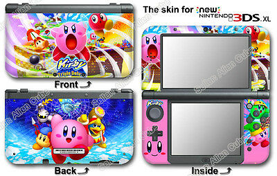 Kirby Amazing New Skin Sticker Cover Decal for NEW Nintendo 3DS XL Version 2015