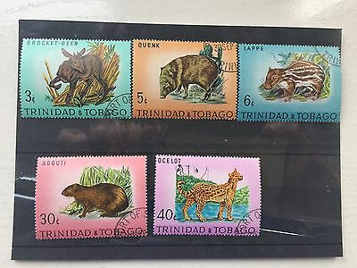 Stamps from Trinidad & Tobago. Animals, Fauna. 1971. Wildelife