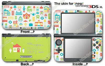 Animal Crossing Happy Home Designer Limited Edition Skin Sticker #for NEW 3DS XL