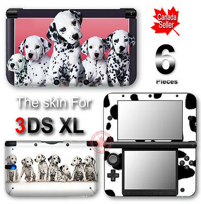 Dog Dalmatian Pet Cute SKIN VINYL STICKER DECAL COVER for Nintendo 3DS XL