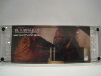 Star Wars Return of the Jedi - JABBA THE HUTT #3651- Authentic 70mm Film Cell