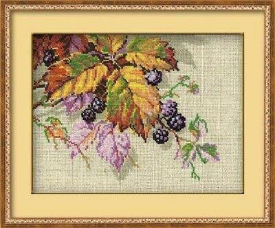 "Counted Cross Stitch Kit RIOLIS 990 - ""Blackberries"""