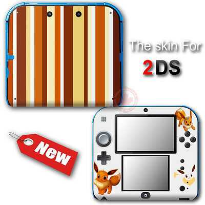 Pokemon Eevee Classic Edition VINYL SKIN STICKER DECAL COVER for Nintendo 2DS