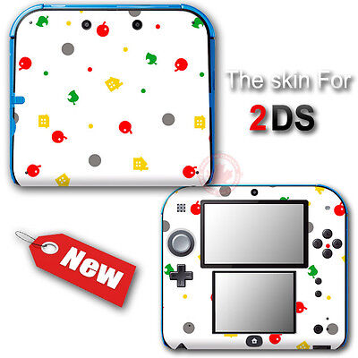 Animal Crossing New Leaf Amazing SKIN STICKER DECAL COVER #2 for Nintendo 2DS