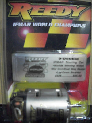 Reedy TI Worlds Modified 9 Double brushed Motor #225 New in Pack