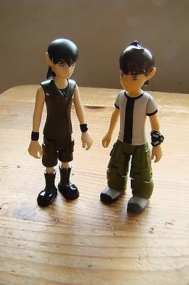 Original series Ben 10 and Kevin 11 10 cm action figures