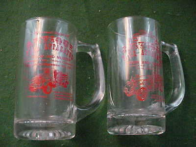 Vintage Antique Fire Engine Show and Muster Mugs, 1991 and 1995