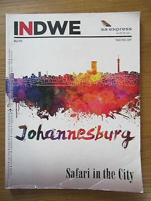 SA Express South Africa Indwe inflight magazine May 2015 2015