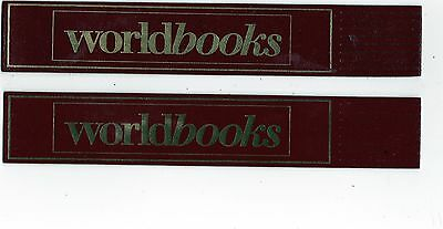 Set Of Two Leather Bookmarks : Worldbooks.