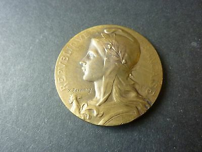 1959 French Federation National Union Of Industries Medal