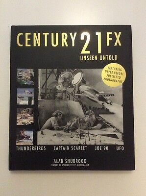Gerry Anderson years Century 21 Fx Unseen Untold Book by Alan Shubrook