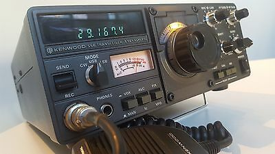 Kenwood TS120S (100W) HF Transceiver.