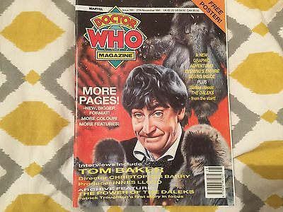 Doctor Who Monthly Magazine 180 Marvel 1991
