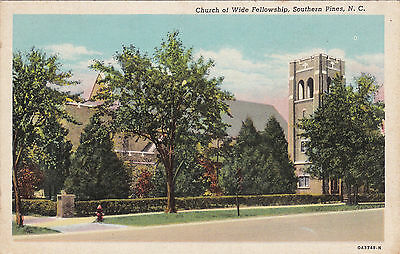 SOUTHERN PINES, North Carolina , 30-40s ;Church of Wide Fellowship