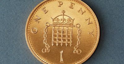 1p coin, pick up only
