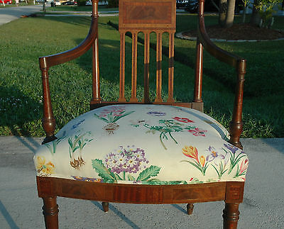 Old Federal Inlay Arm Chair