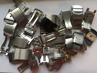 oris lot faltschliesse stahl for parts or repair incomplete defekt