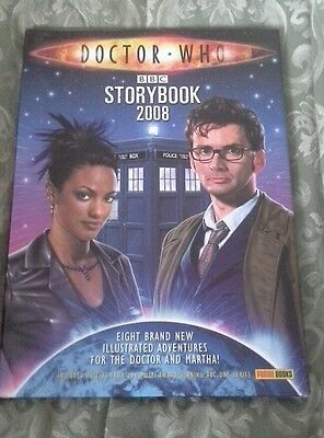 Doctor Who tenth doctor story book 2008