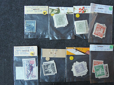 Selection of Stamps from Czechoslovakia