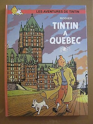 Herge Hommage Tintin A Quebec