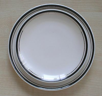 Two British Airways Concorde Royal Doulton Side Plates