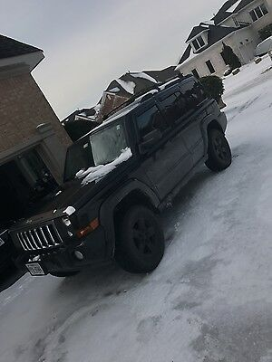 2007 Jeep Commander Sport 2007 Jeep Commander lifted