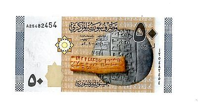Syria ... P-New ... 50 S.Pounds ... (2009) ... *UNC*