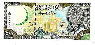 Syria ... P-110b ...  500 Pounds ... 1998 ... *Choice UNC*