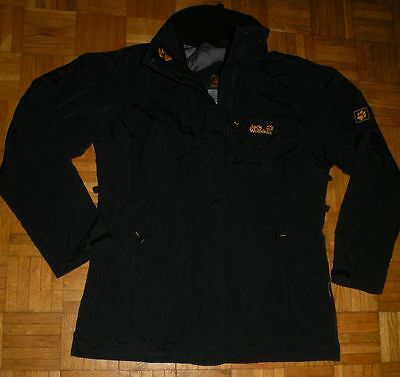 "Jack Wolfskin Texapore Outdoor Ladies Jacket ""M"" Hooded Jacke Damen Schwarz"