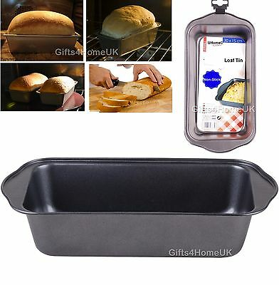 Non Stick Bread Loaf Tin Tray Baking Pan Oven Metal Bakeware Cookware Cake