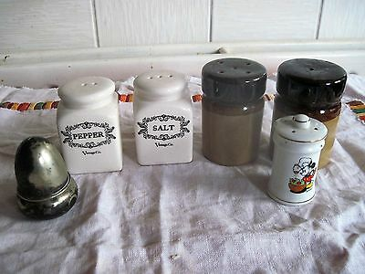 Salts and Peppers JOB LOT incl Mickey Mouse salt/pepper