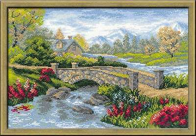 """Counted Cross Stitch Kit RIOLIS 1078 - """"Summer View"""""""