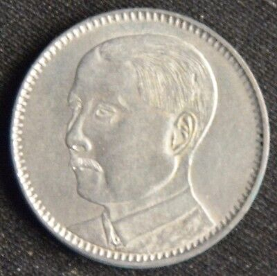 China (Republik) 20 Cents 1929 (Jahr 18) - Silber