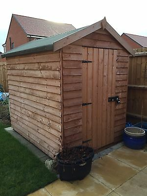 7x5 Used Wooden Shed ( Dismantled ).