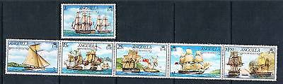 Anguilla 1976 Battle of Anguilla SG 255/60 MNH