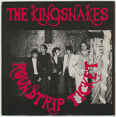 THE KINGSNAKES Roundtrip ticket 45t ORIGINAL FRANCE 1985